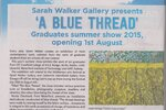 'A Blue Thread' Summer Graduate Show 2015